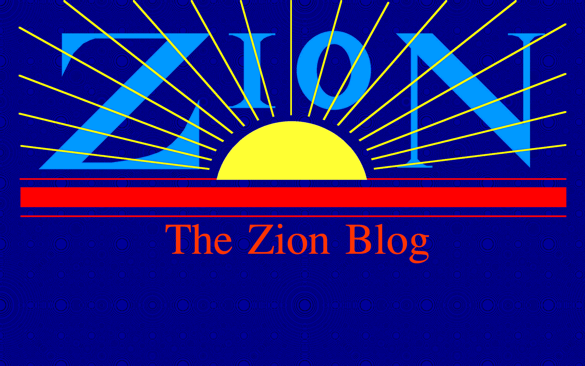 Jay Mackley LDS Zion blog